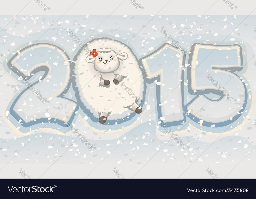 Year of the Sheep 2015 Chinese Cute Zodiac