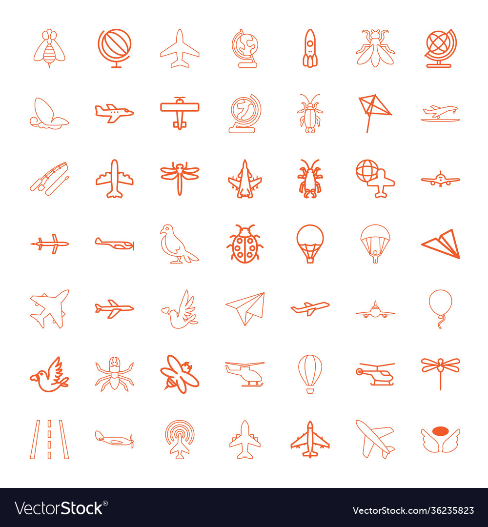 Fly icons