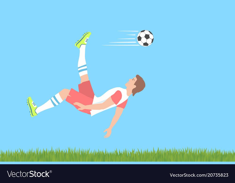 Soccer overhead kick