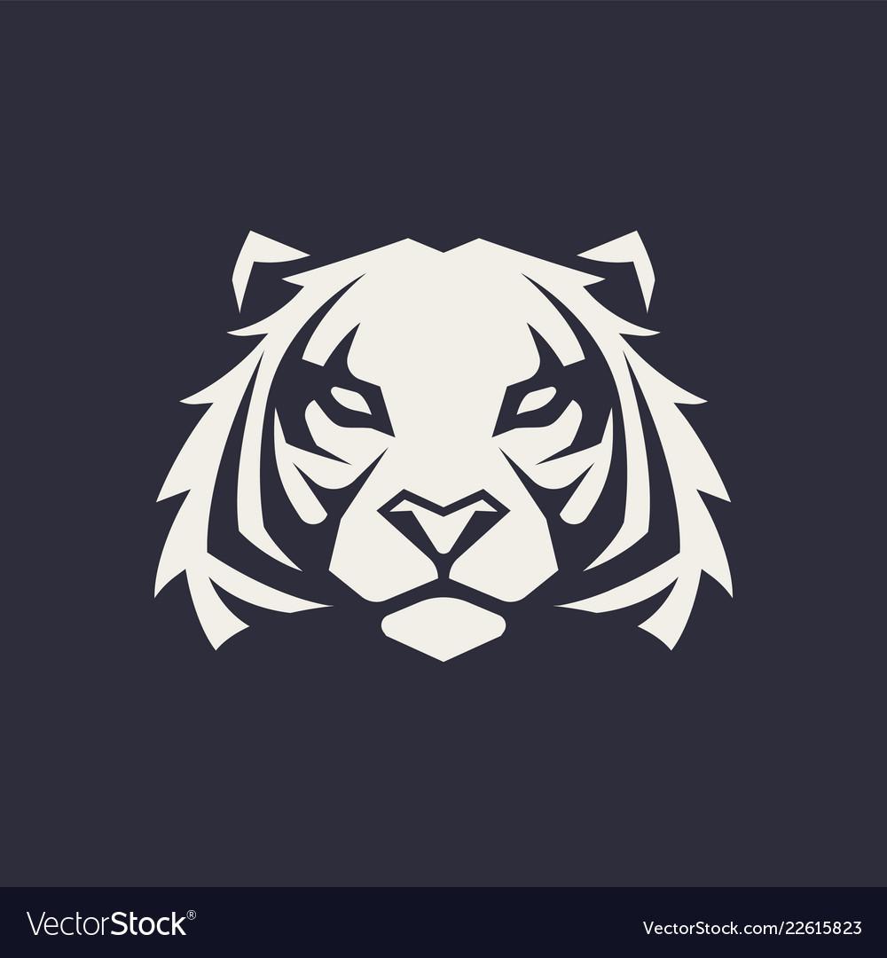 Tiger mascot icon