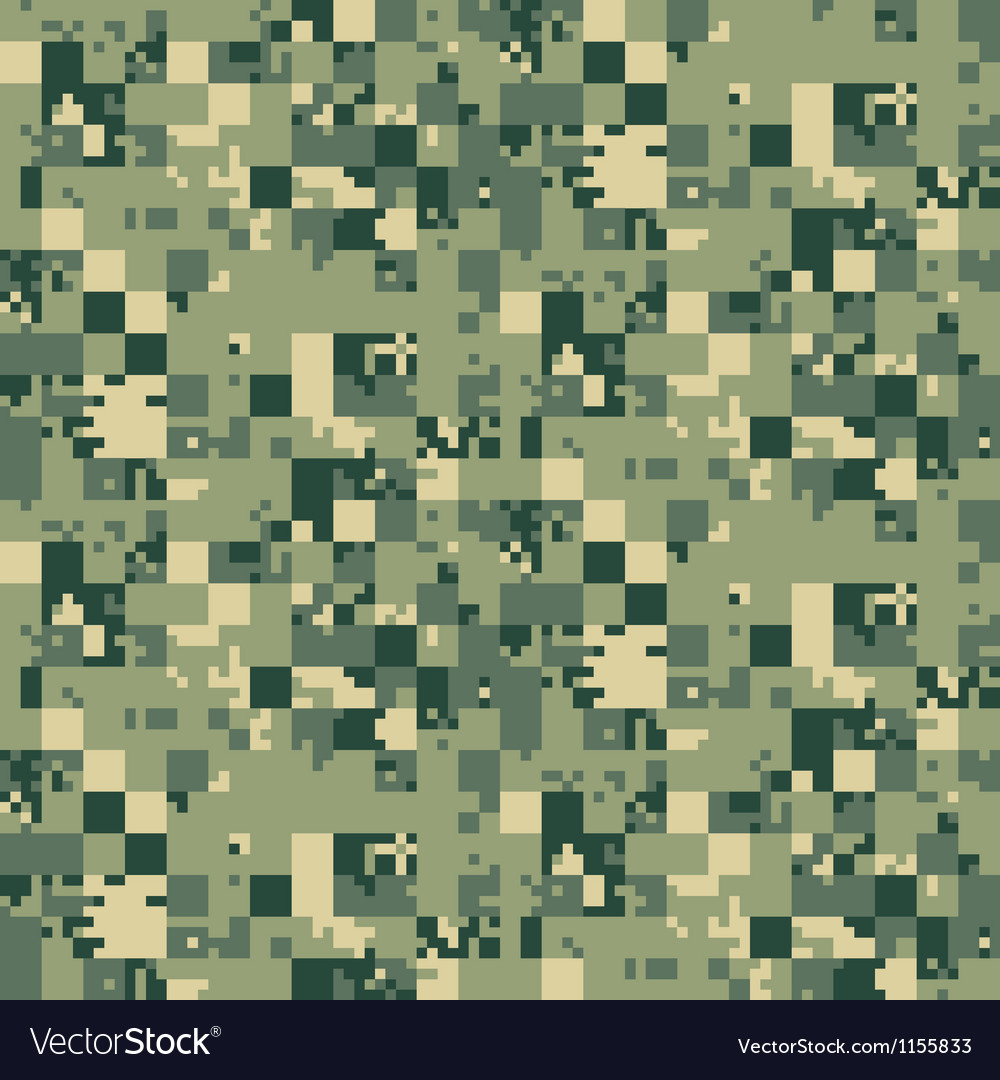 digital camouflage seamless pattern royalty free vector rh vectorstock com red digital camo vector red digital camo vector