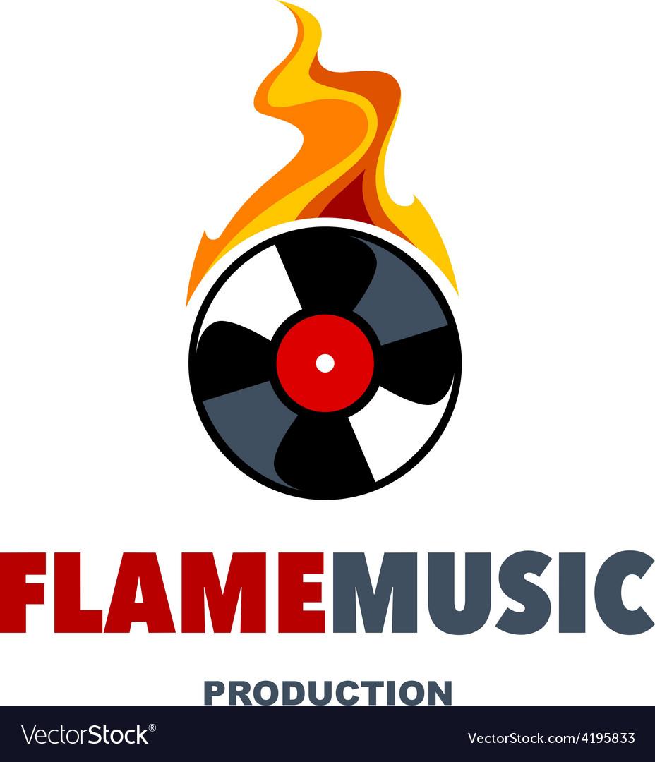 Flame Music Logo