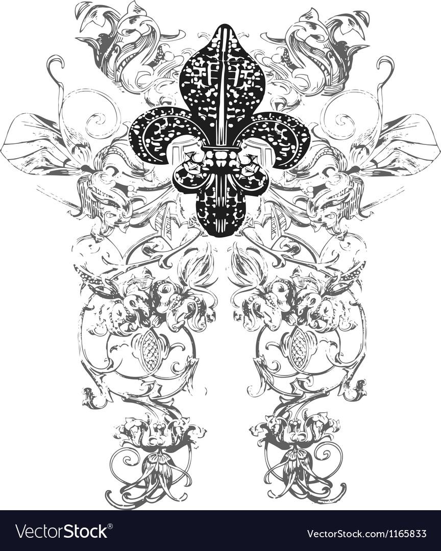 Fleur de lys emblem