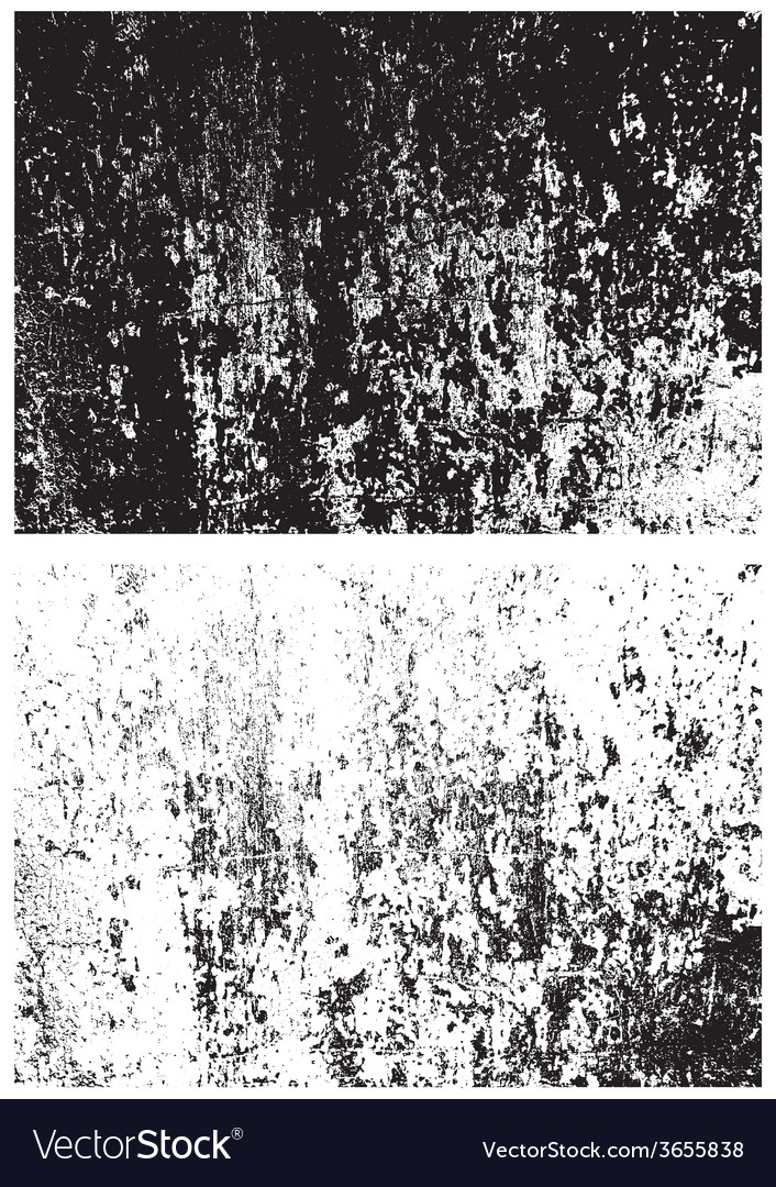 Grunge black and white texture Distress texture vector image