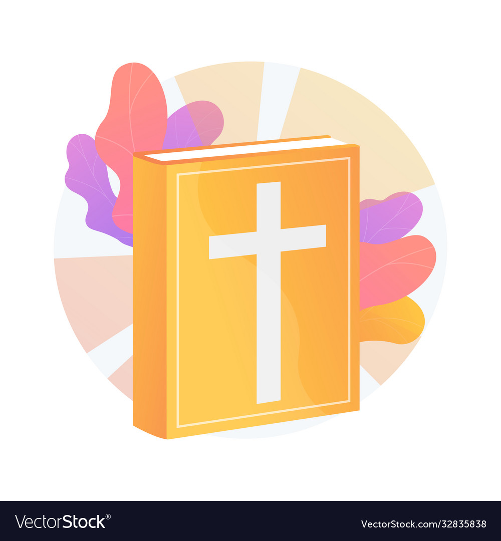 Holy bible abstract concept