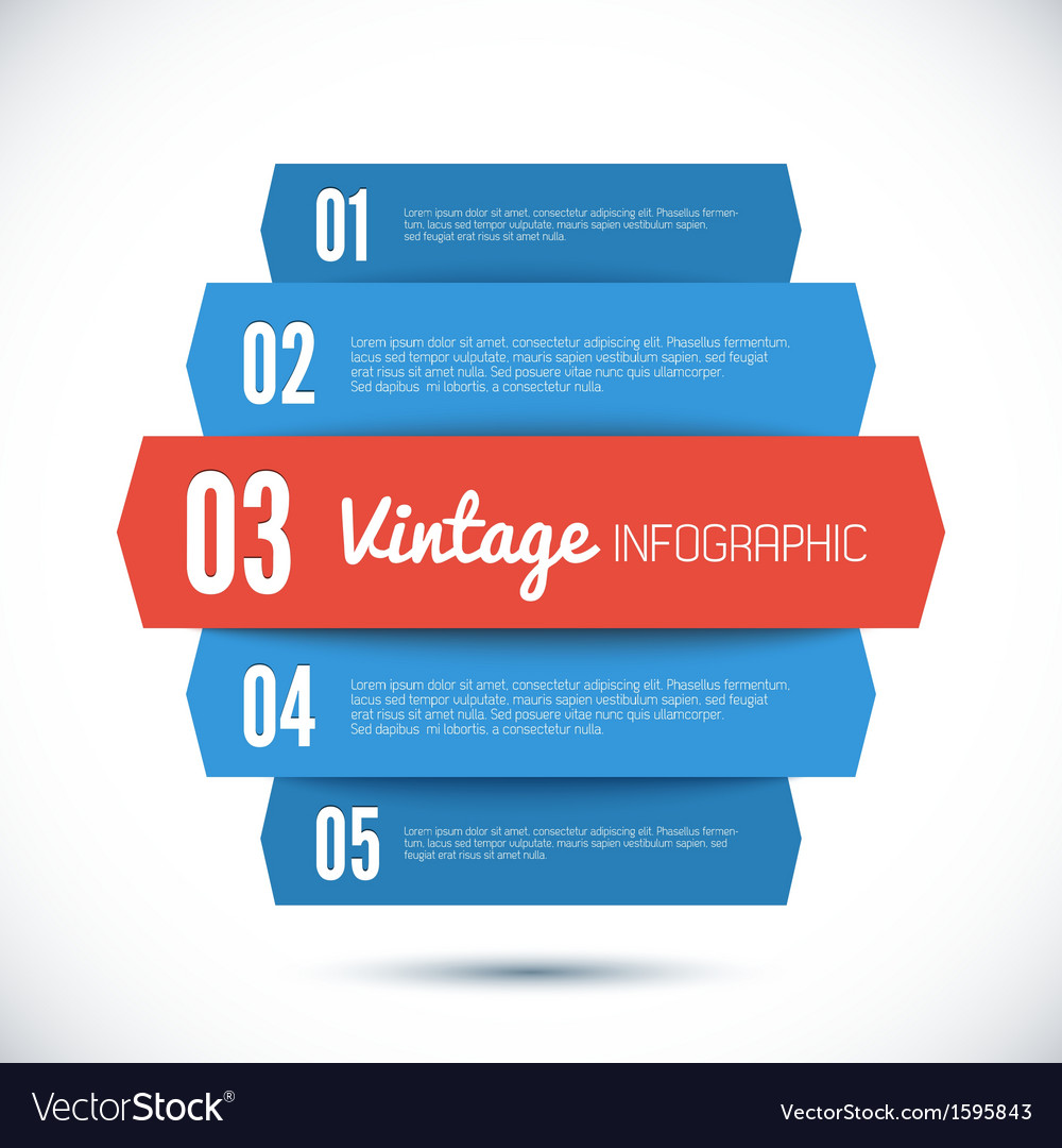 Design template for your infographic