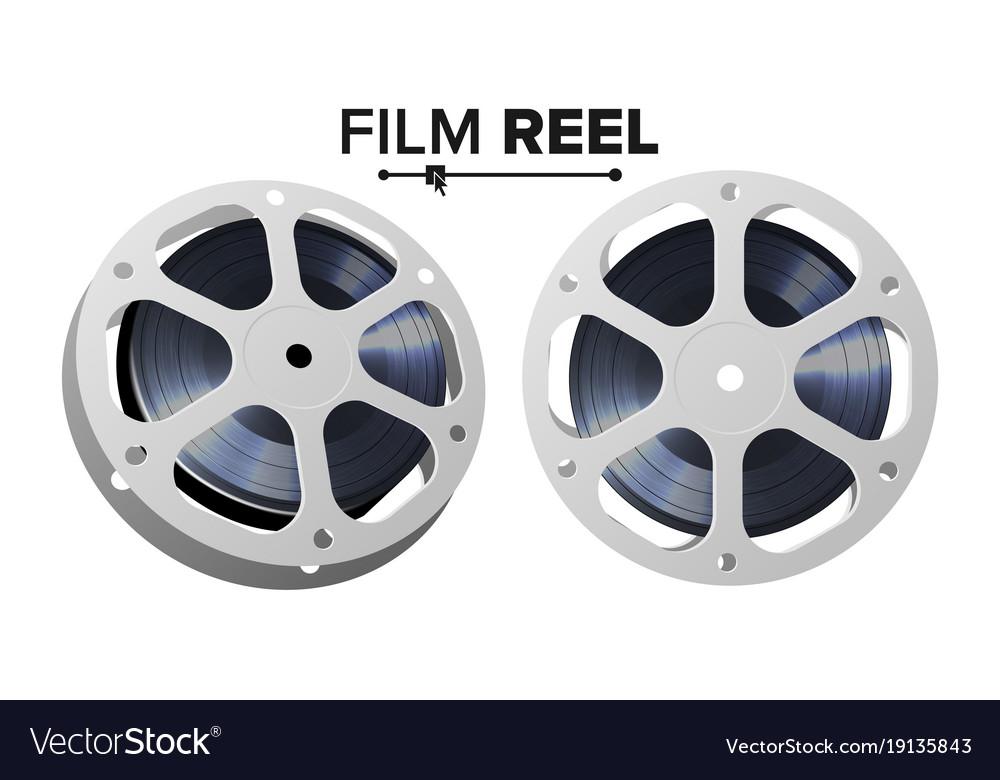 Film Reel Retro Movie Object Classic Royalty Free Vector