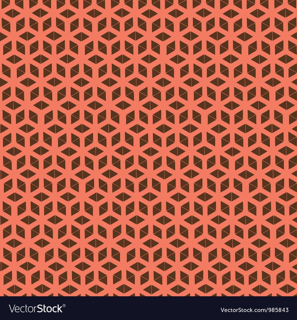 Life flower pattern vector image