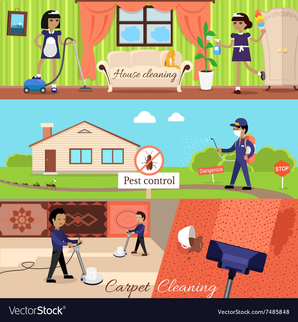 House Cleaning and Pest Control