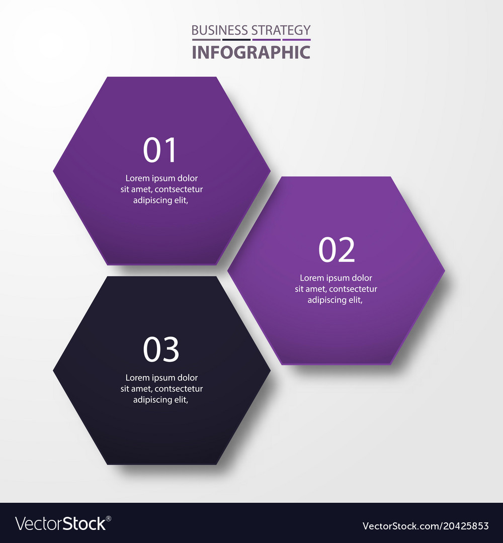 Business infographics template design for