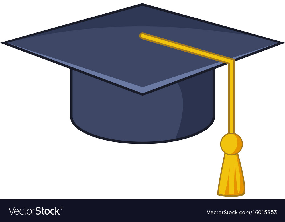 graduation hat icon cartoon style royalty free vector image graduation cap vector free download graduation cap vector download