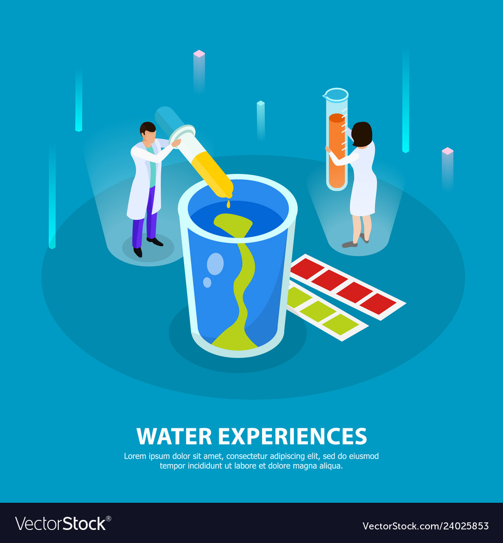 Water purification isometric composition