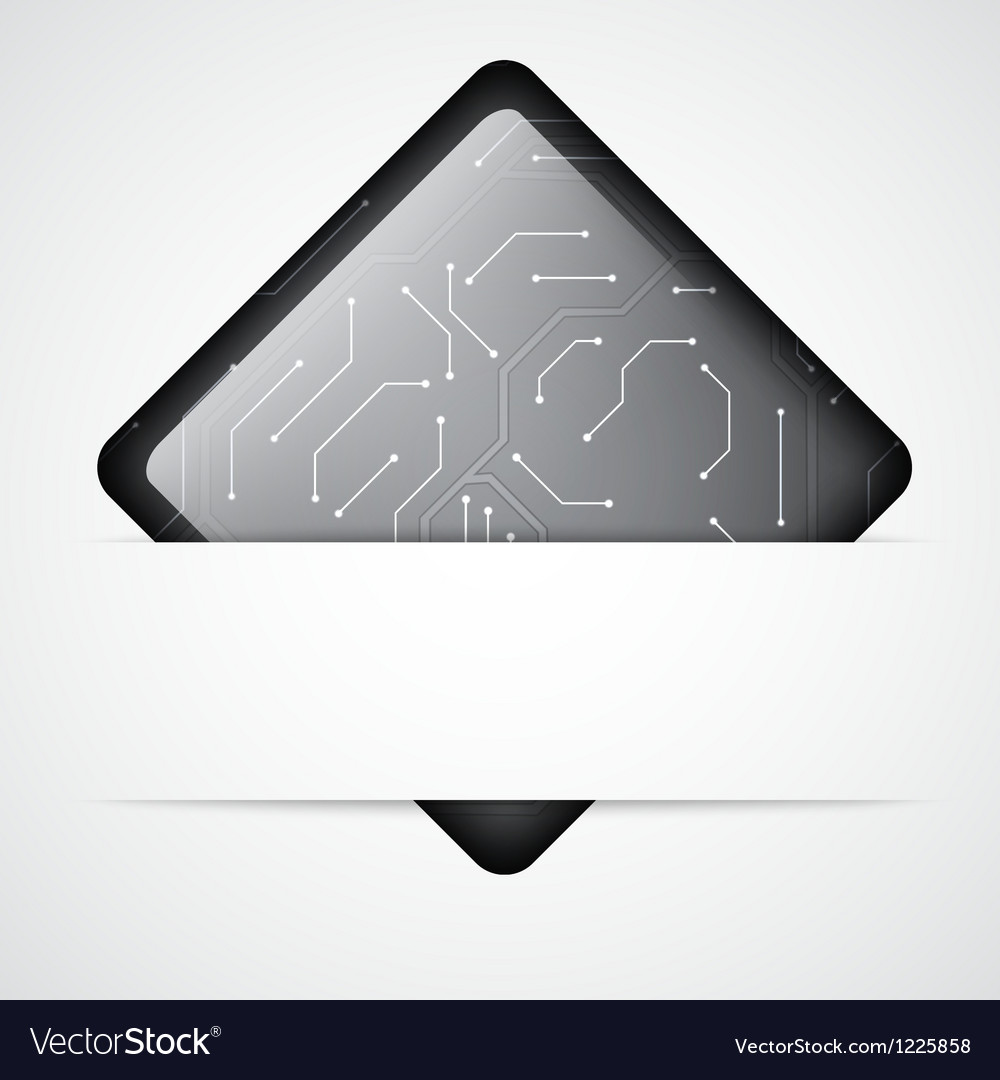 Circuit Board Background Royalty Free Vector Image Boards With Clock Hands Stock