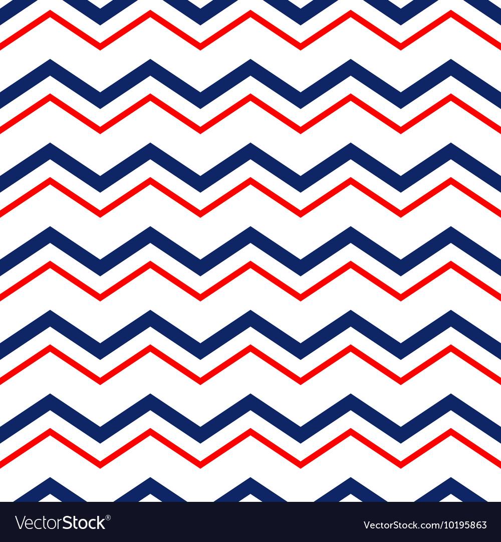 Abstract geometric chevron seamless pattern in
