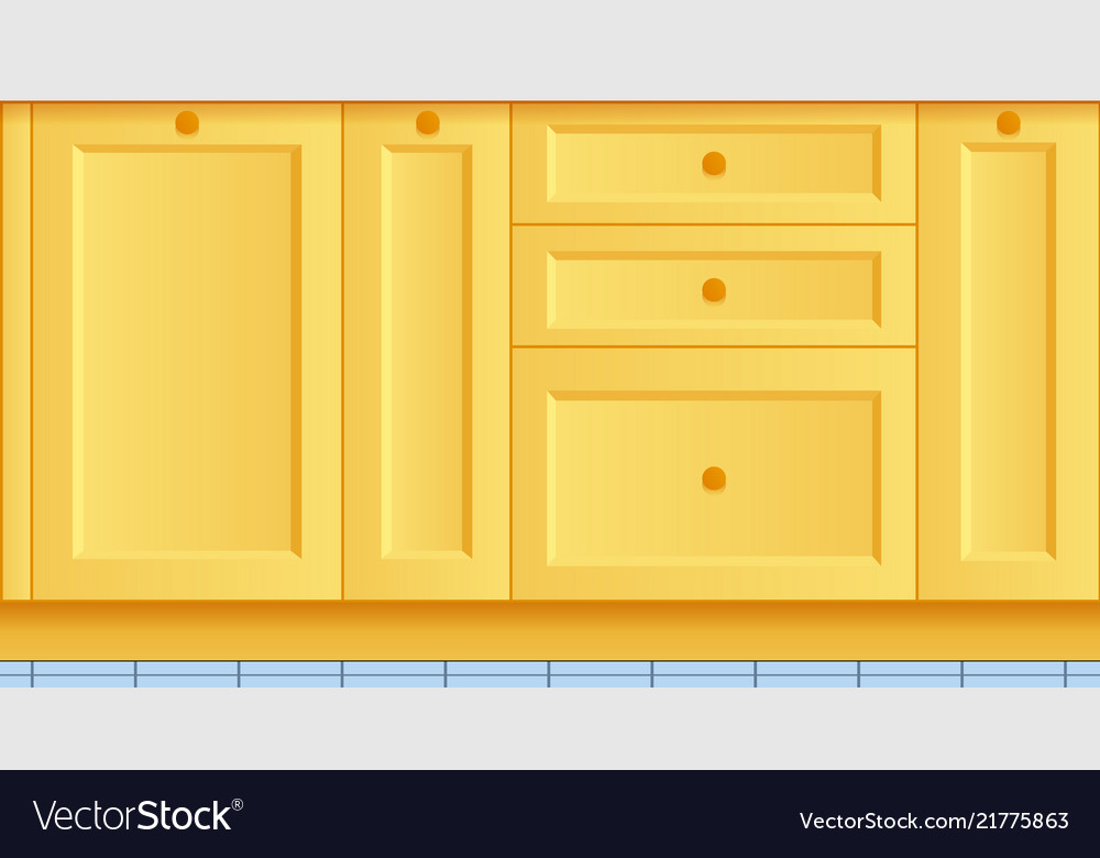 Beautiful Bright Kitchen Background Kitchen Set