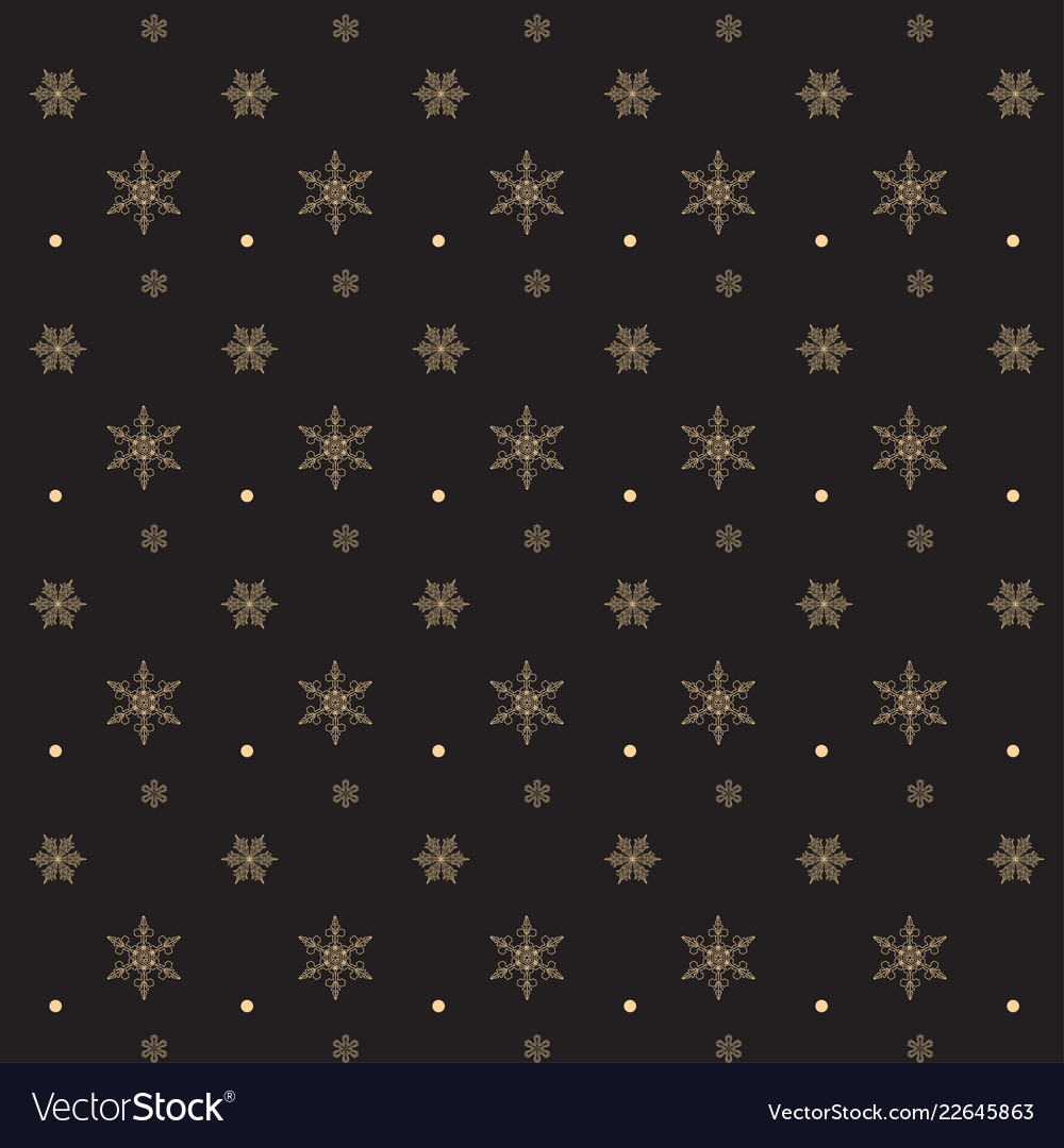 Christmas snow pattern snowflakes