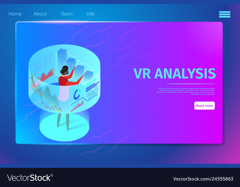 Man wearing vr glasses interacting virtual reality