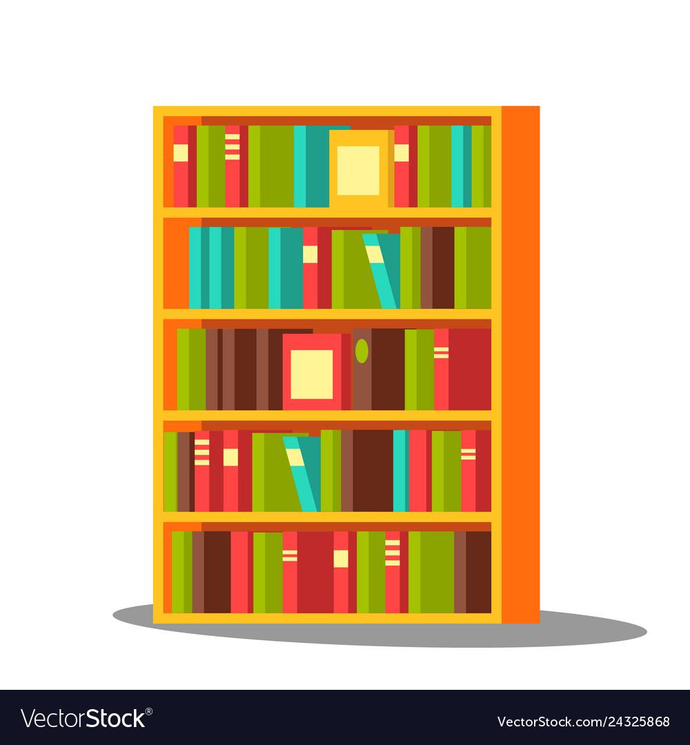 Bookcase home library pile encyclopedia