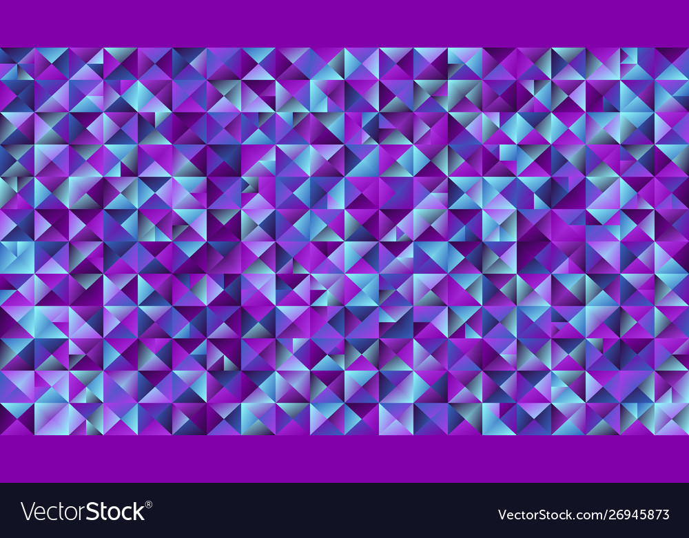 Abstract geometrical polygonal triangle website