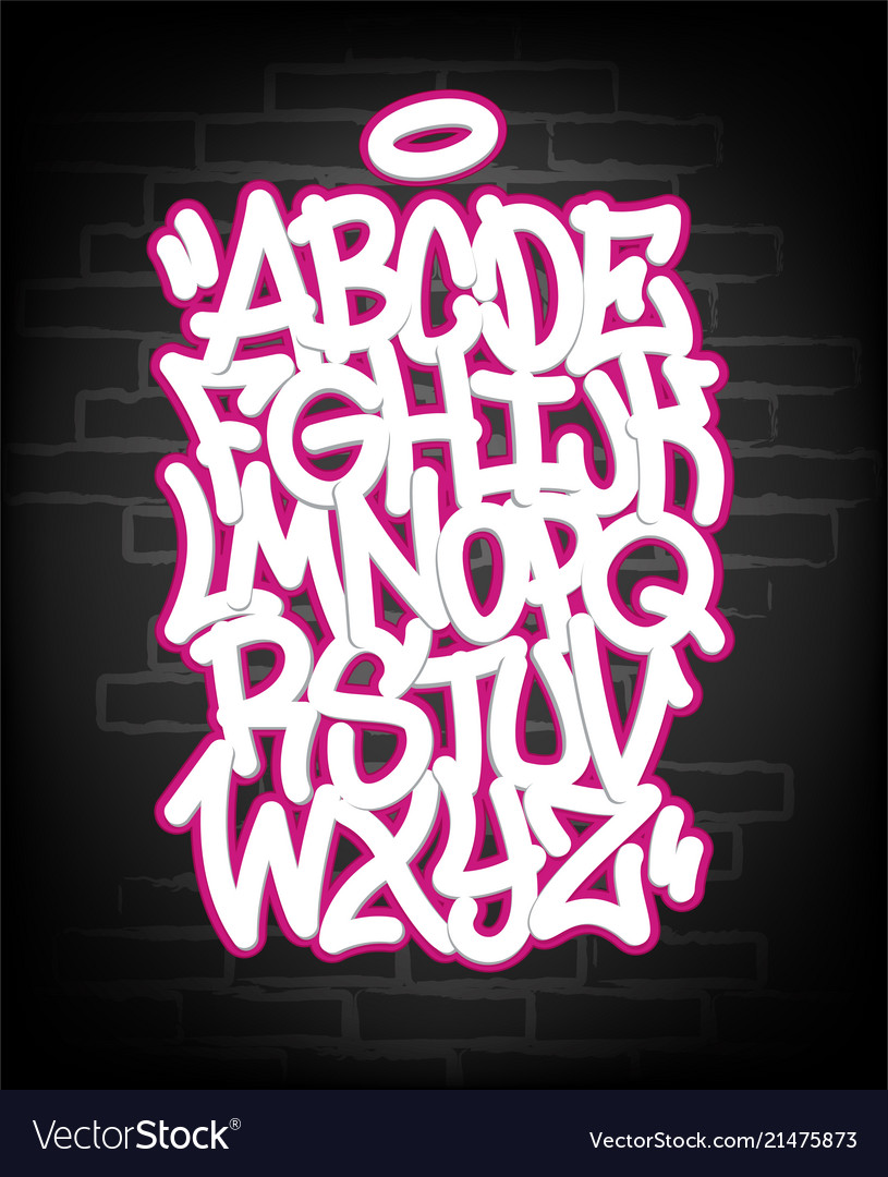 Abc, Color, Hand, Letters & Written Vector Images (41)