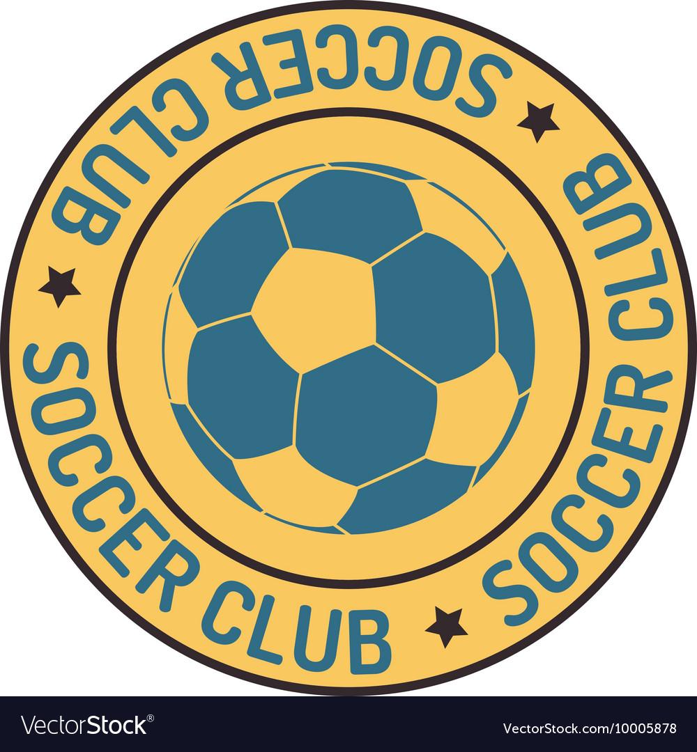 Football sign badge