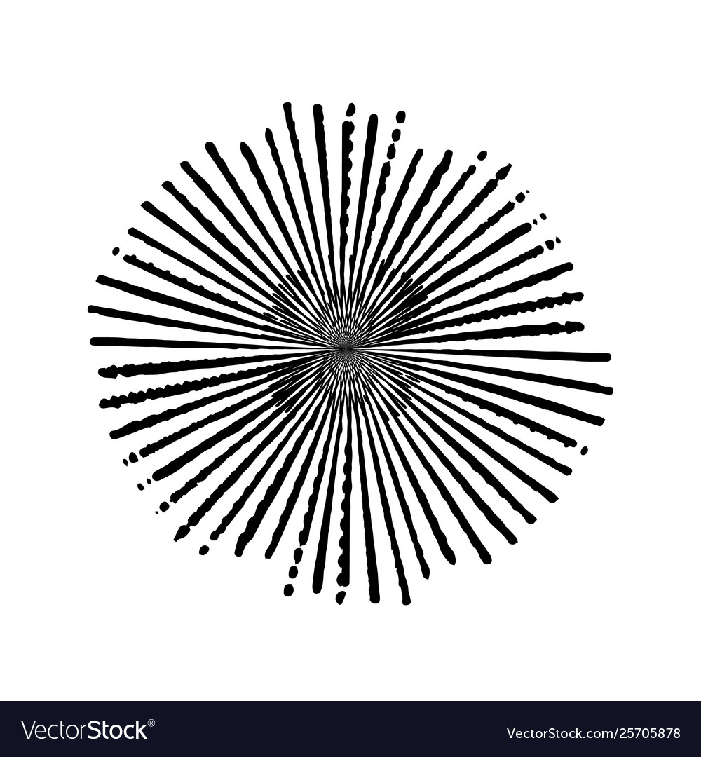 Grunge burst stamp vector