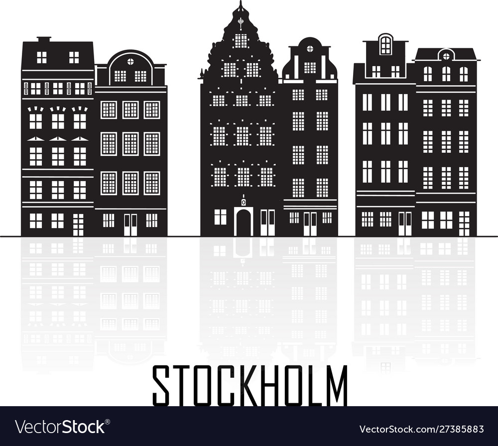 Old town stockholm sweden travel landmark