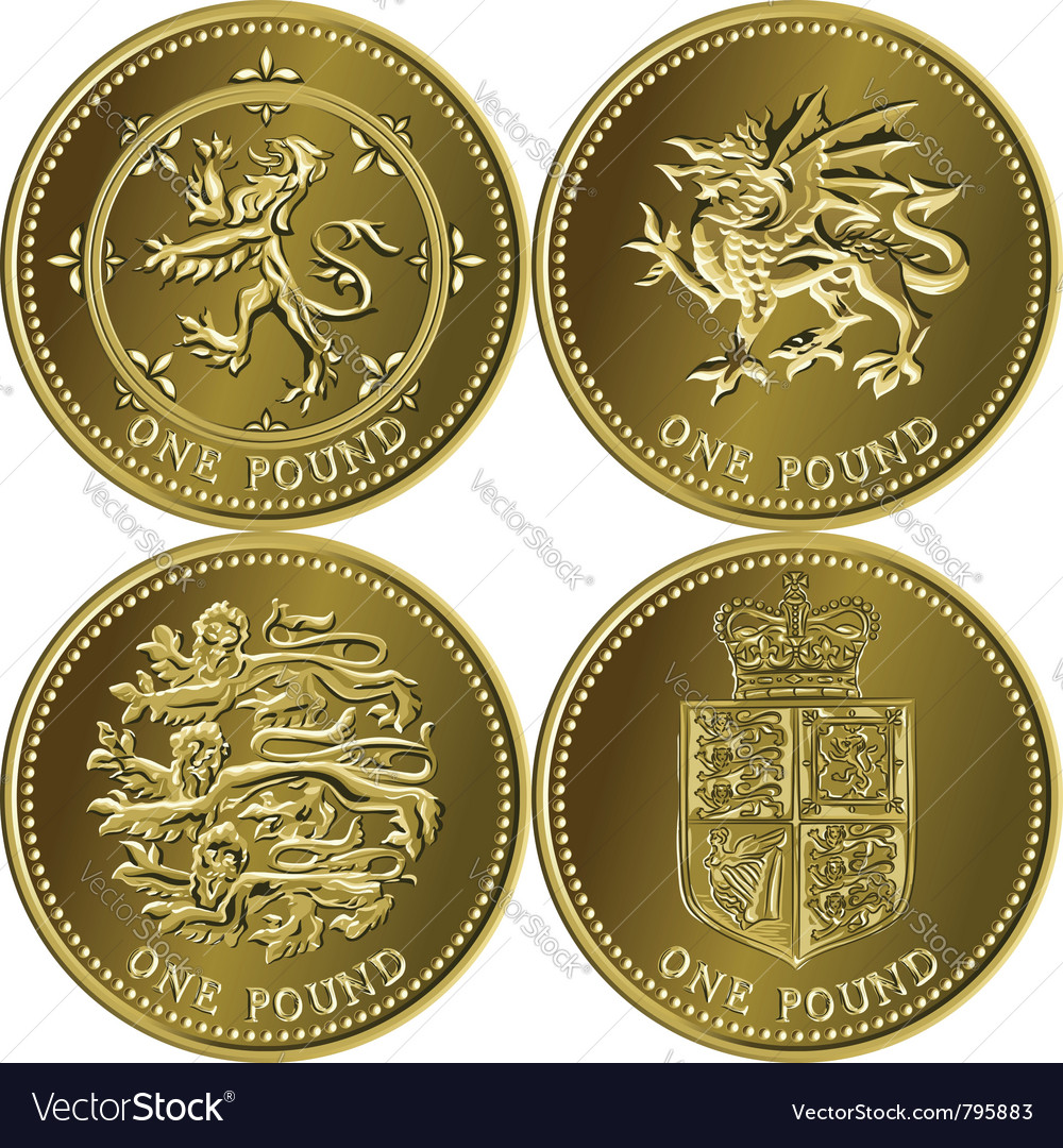 Money Gold Coin Royalty Free Vector Image