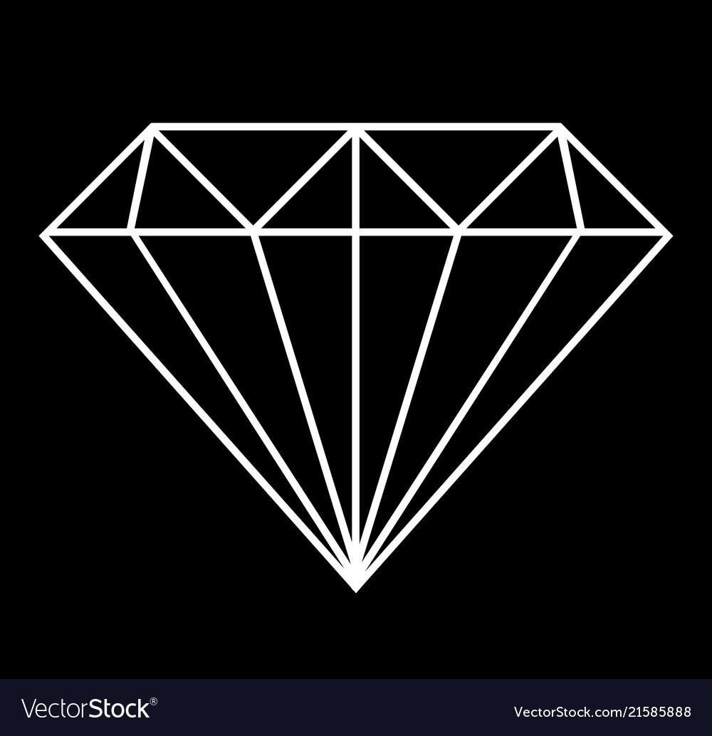 Diamond geometric background design graphic