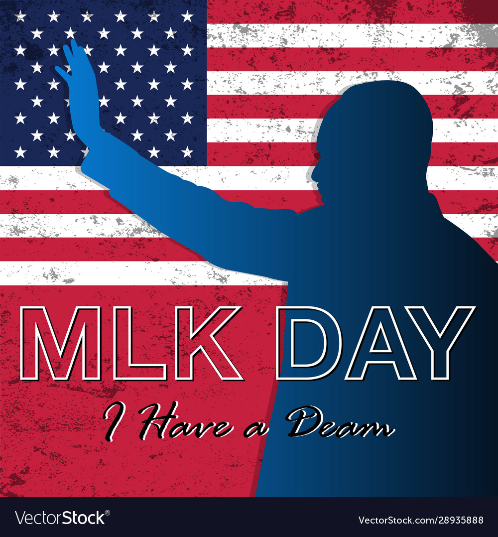 Martin luther king jr day background
