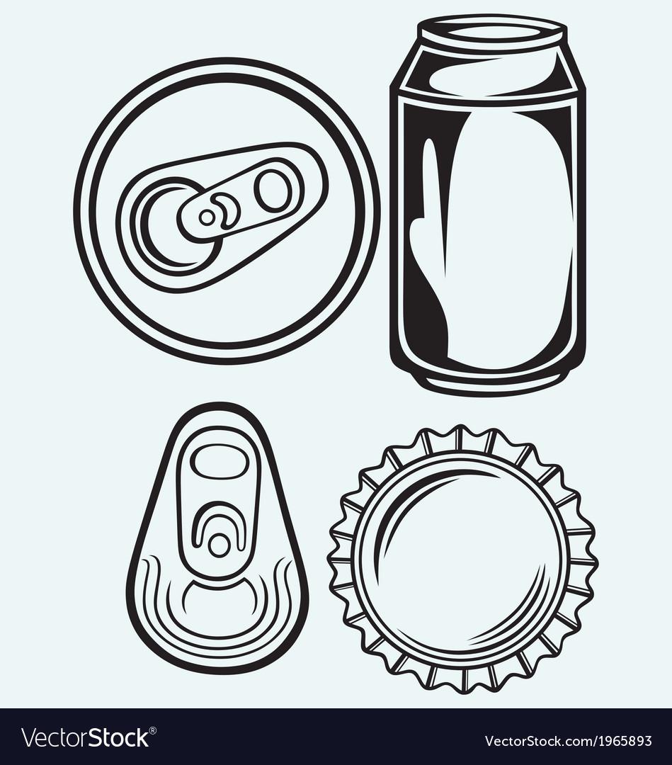 Bottle cap beer