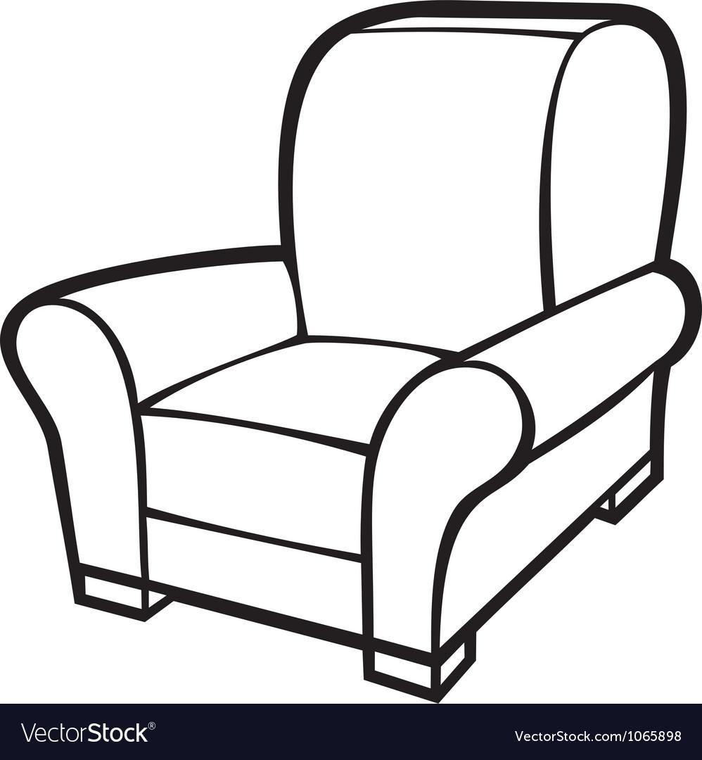 Armchair - leather tub chair