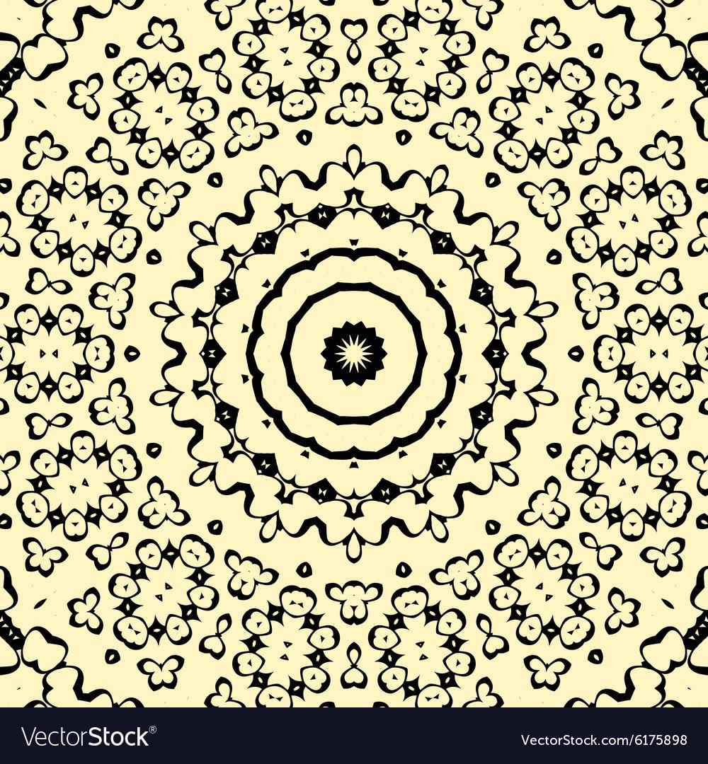 Seamless pattern oriental style indian henna