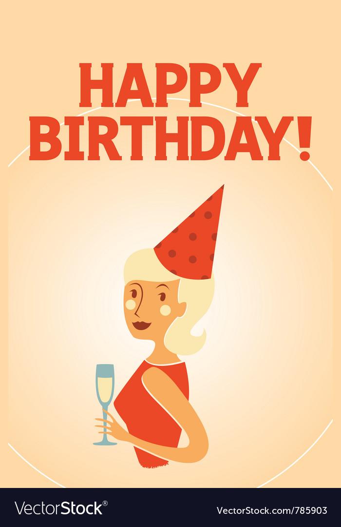 Happy birthday card model vector 785903 by kurorein | R