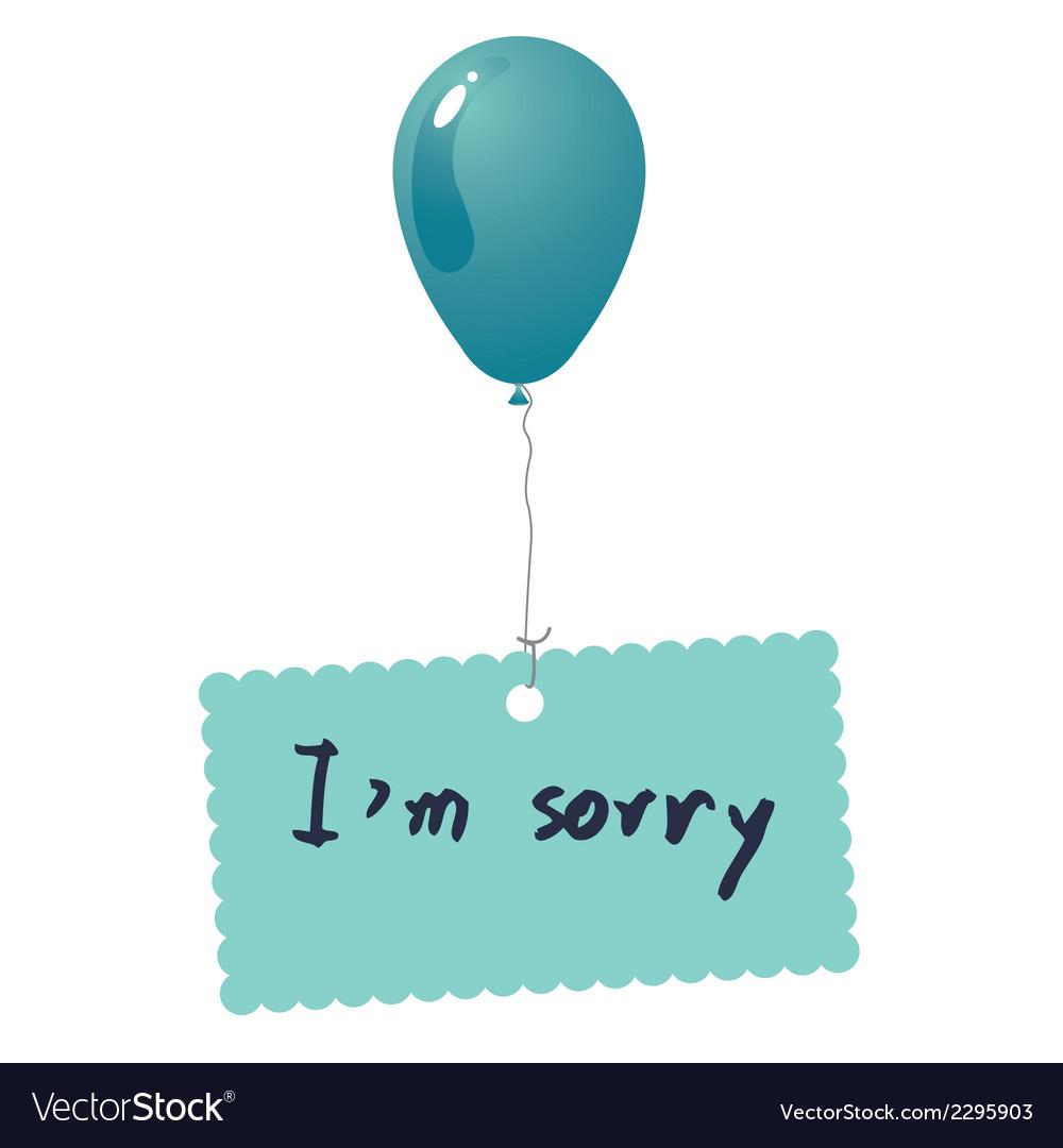 Im sorry card