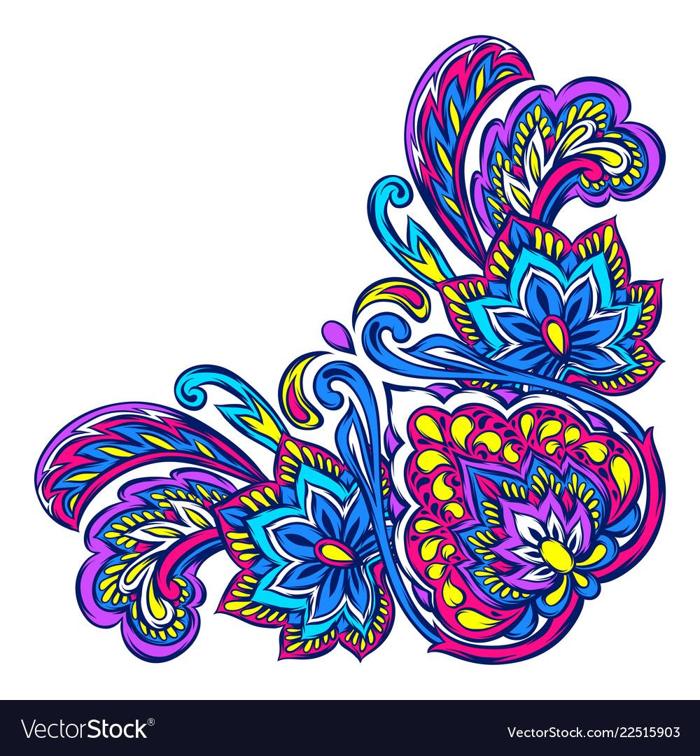 Indian ethnic decorative element