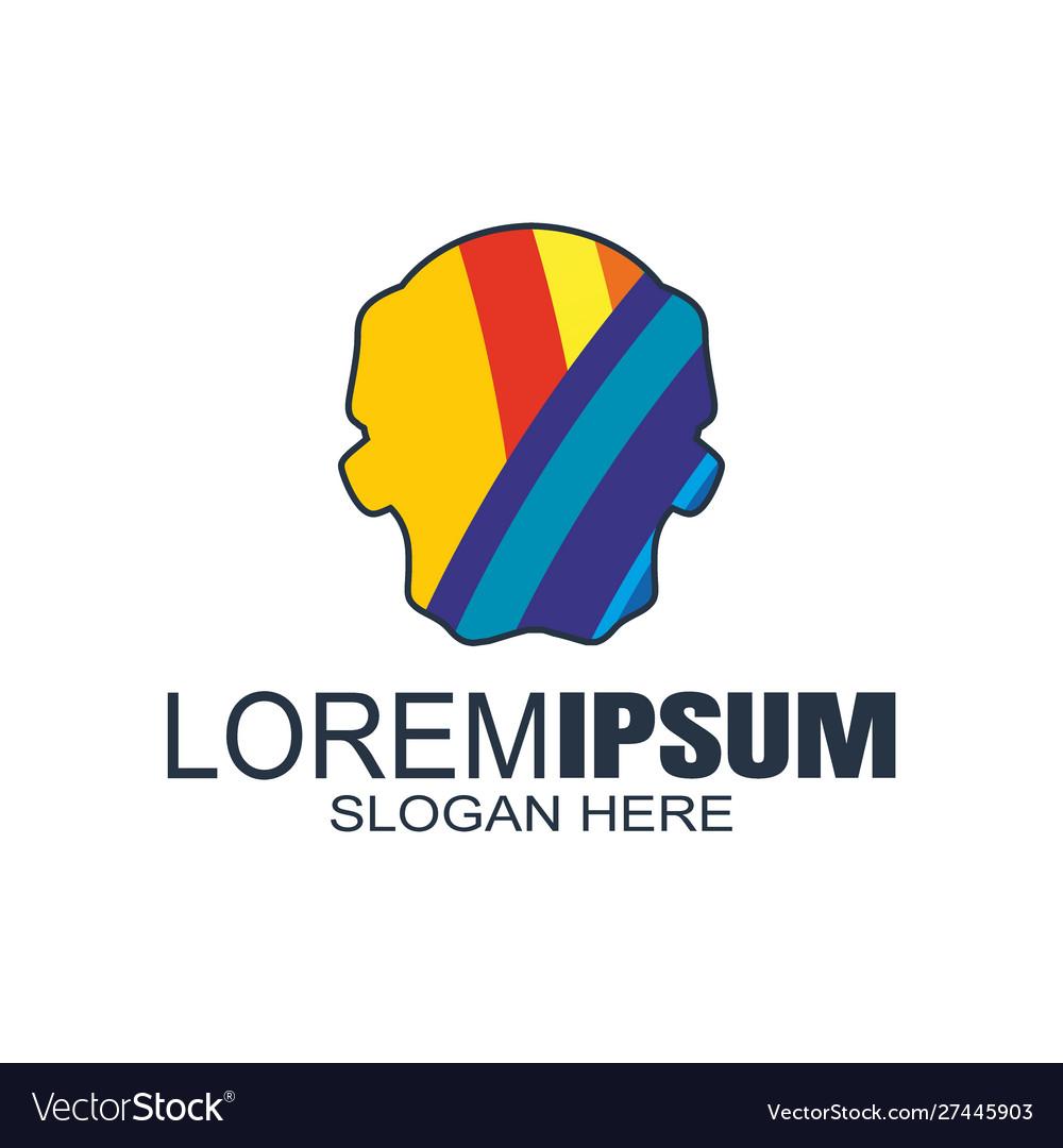 Modern abstract logosbusiness or financial logo