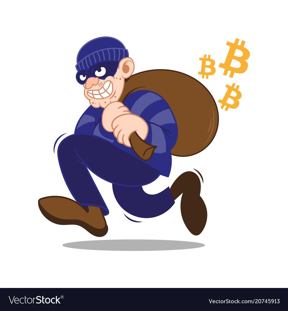 Bitcoin ciber thief