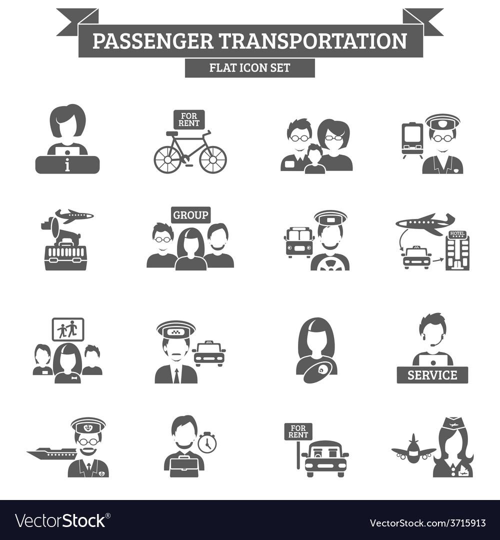 Passenger Transportation Icon