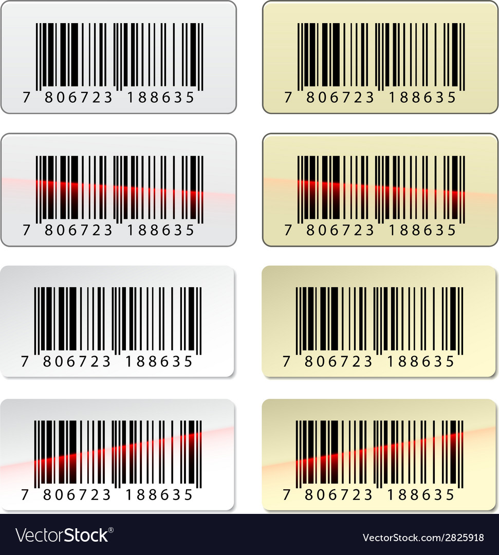 EAN barcode stickers