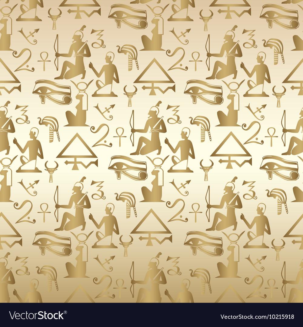 Egyptian seamless pattern background wallpaper