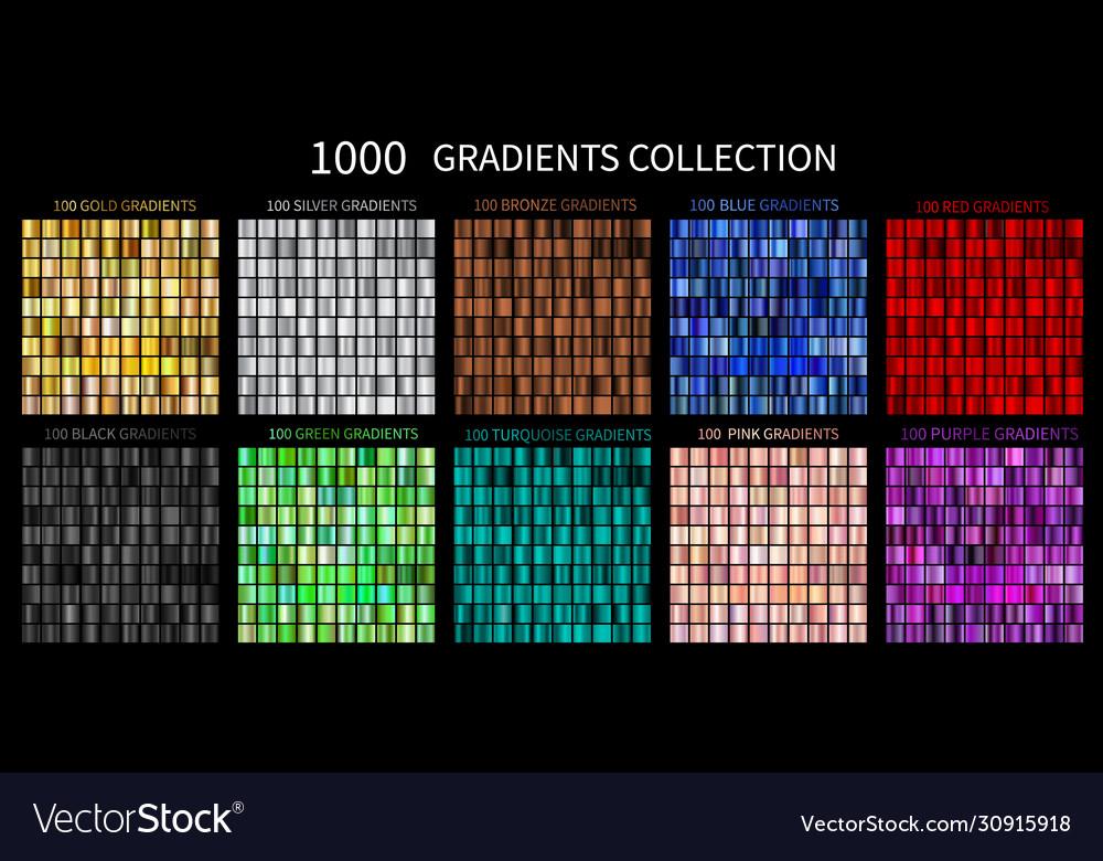 Gradients megaset big collection of