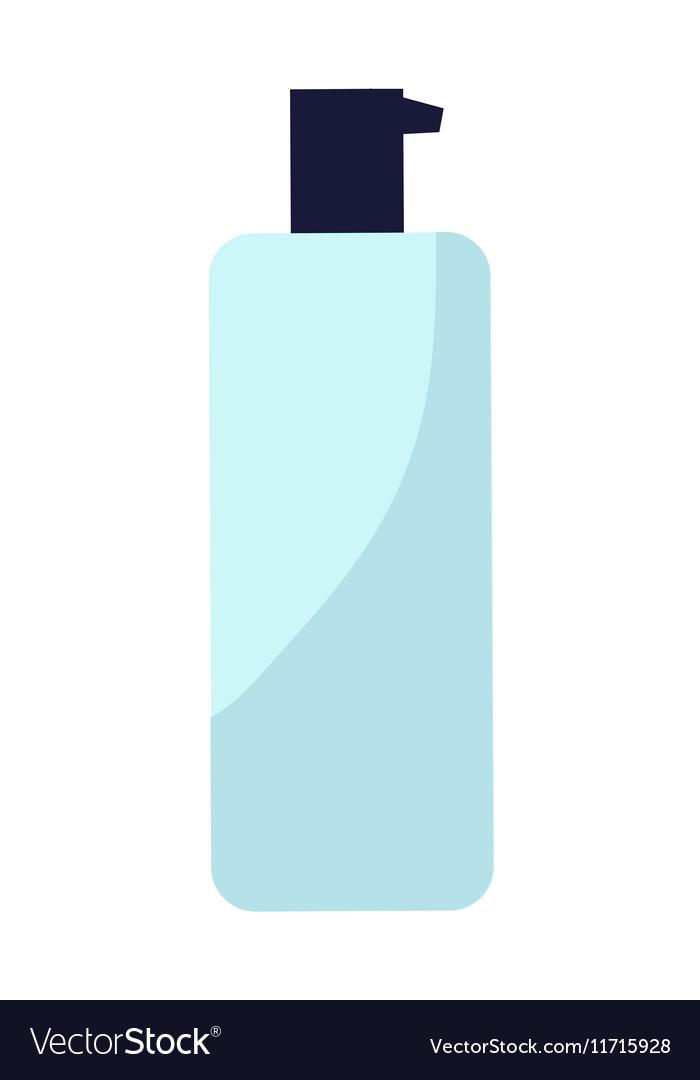 Plastic Bottle of Cream