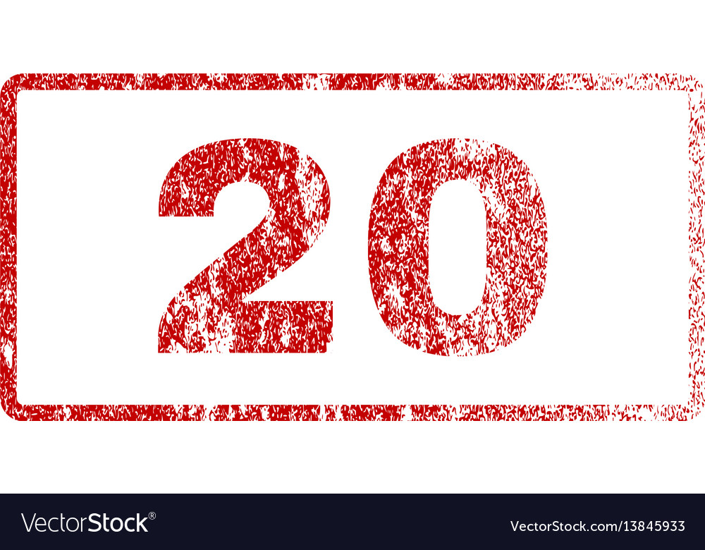 20 rubber stamp