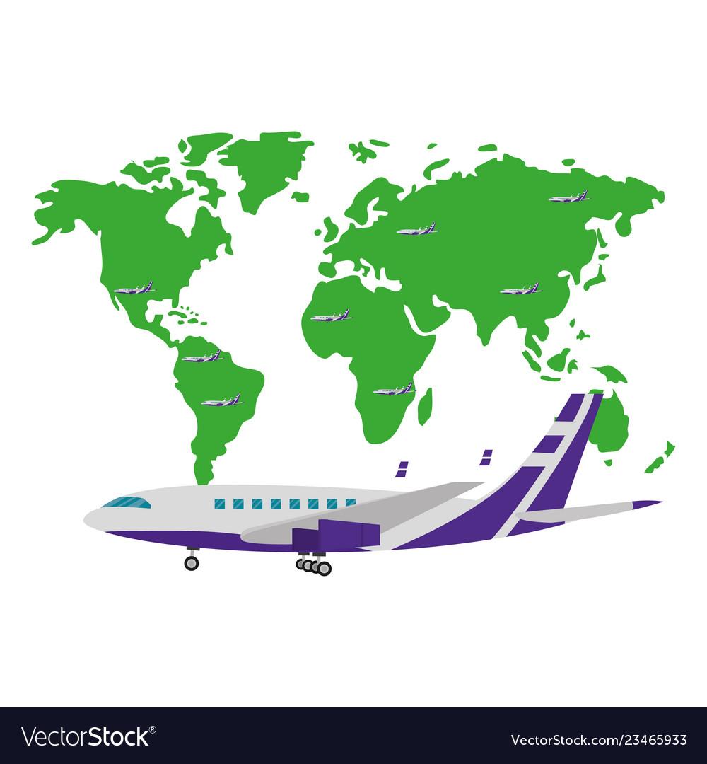 Travel and tourism cartoon