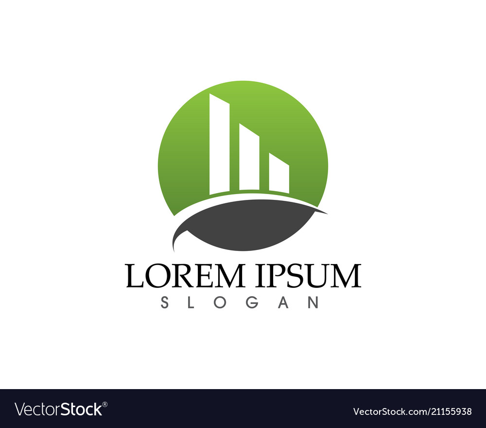 Business finance logo and symbols concept