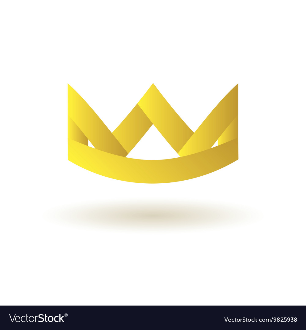 crown king logo symbol icon royalty free vector image