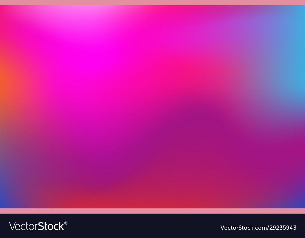 Modern gradient rainbow background