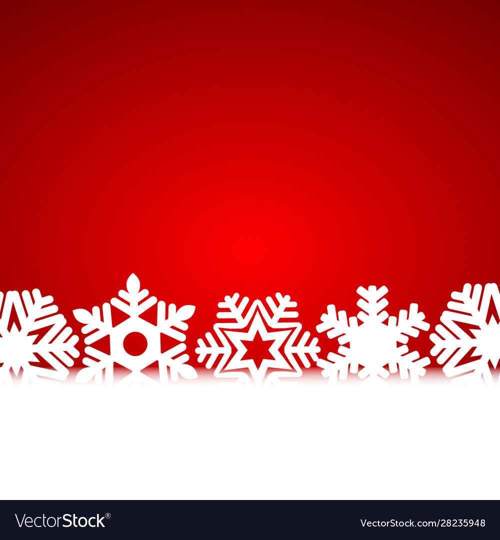 Christmas background with snowflakes and light