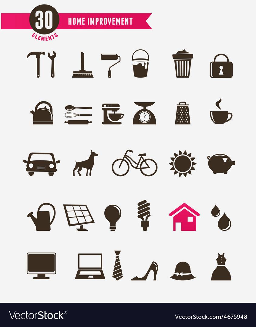 Home - icon set